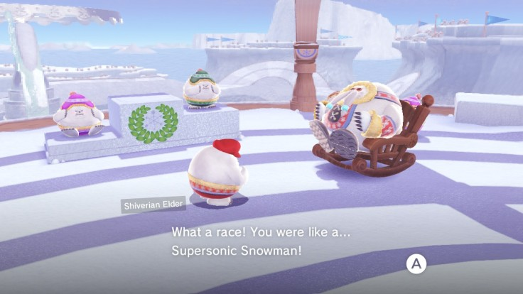 Supersonic snowman