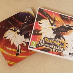 Pokemon Ultra Sun and tin