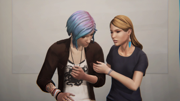 Chloe Price and Rachel Amber