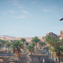 A view in Assassin's Creed Origins