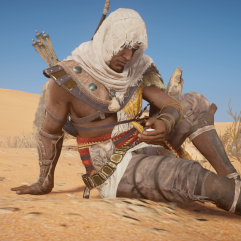 Bayek from Assassin's Creed Origins