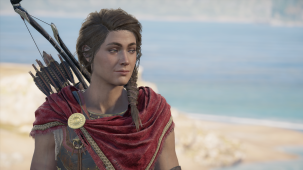 A moment of calm for Kassandra