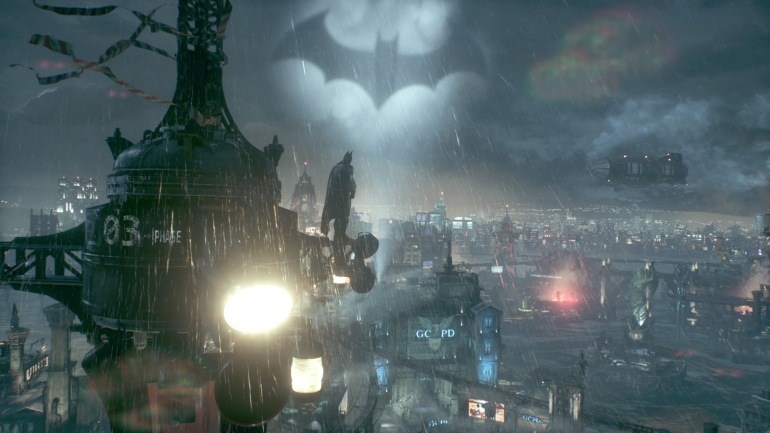 BATMAN™: ARKHAM KNIGHT Gotham and Bat Symbol